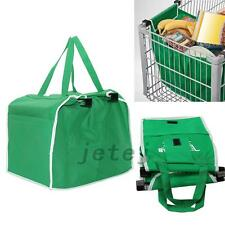 Convenient Foldable Tote Eco-friendly Reusable Trolley Supermarket Shopping Bags