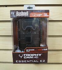 New Bushnell Trophy Cam Essential E2 HD Scouting Game Trail Camera 119836C