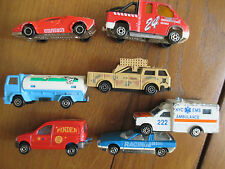 Lot de 7 voitures miniature Majorette
