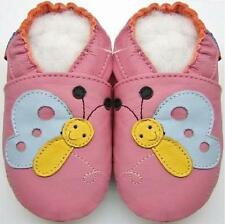 Mini Shoezoo butterfly pink 12-18 m soft sole walking toddlers girl shoes