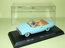 FORD TAUNUS BADEW Cabriolet  DETAILCARS  1/43