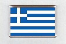 Greece Flag Fridge Magnet