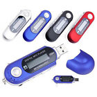 Portable USB MP3 Music Player Digital LCD Screen Support 32GB TF Card & FM Radio