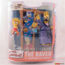 Simpsons Tree House of Horrors - The Raven figure set by McFarlane Toys - sealed