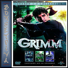 GRIMM - COMPLETE SEASONS 1 2 & 3  **BRAND NEW DVD BOXSET **