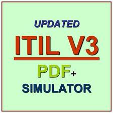 ITIL V3 Foundation Test EXAM QA PDF+Simulator