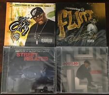 Shoestring & Bootleg Of The Dayton Family SEALED LOT Of 4 CDs Flint G-Rap SEALED