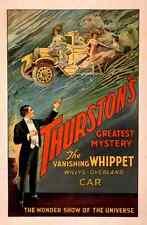 Thurston 7 A4 Photo Print Magic Magician Vintage