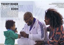Coupure de presse Clipping 2015 Teddy Riner  (4 pages)