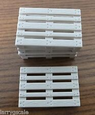 Pallet Miniatures 5 Pack for your Model Train Freight Operation