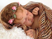 """LOVELY REBORN BABY GIRL """" KAMI-ROSE """" FROM NEW KIT BY LAURA LEE EAGLES"""