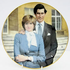 Vintage Crown Bone China Plate Royal Wedding Prince Charles Princess Diana 1981