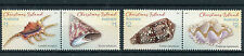 Christmas Island Australia 2016 MNH Shells 4v Set in Pairs Sea Shells Stamps