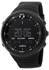 Suunto Core All Black Military Digital Multi-Function Outdoor Watch SS014279010