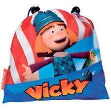 Vicky, la Viking-Pequeño Bolso de lazo-Tamaño: 26 X 25,5 Cm
