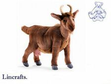 Brown Goat  Plush Soft Toy by Hansa  4148
