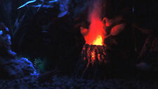 Volcano Internal Air Pump LED Bubble Maker, Aquarium Decoration