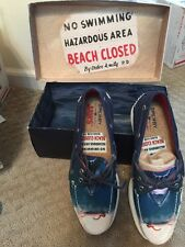 NIB Sperry Women's Jaws Limited Edition A/O 2-Eye Shark Blue STS97569 Size 9