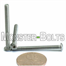 "#4-40 x 1-1/4"" – QTY 10 – Stainless Steel BUTTON HEAD Socket Cap Screws A2 18-8"
