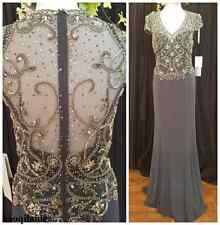 Stunning Beaded Sheath Mother of the Bride/Groom Dress Women Formal Evening Gown