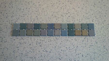 Multi Coloured Mosaic Wall Tile Border Strips