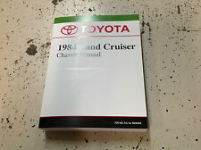 1984 TOYOTA LAND CRUISER CHASSIS Service Shop Repair Manual BRAND NEW