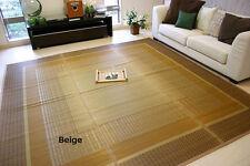 """Japanese Tatami Carpet with Felt on the back """"Hana-goza"""" for wooden floor."""