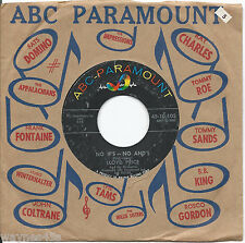 LLOYD PRICE * 45 * No If's - No And's * 1960 #40 * CLEAN USA ORIGINAL ABC PARA