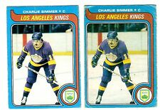 1X CHARLIE SIMMER 1979-80 OPC #191 RC Rookie GVG O Pee Chee lots Available