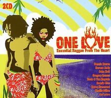 One Love: Essential Reggae from the Heart by Various Artists (CD, Nov-2003, 2 Di