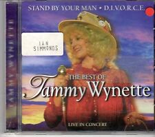 (DX250) The Best of Tammy Wynette, Live in Concert - 1999 CD