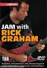 Learn To Play JAM WITH RICK GRAHAM GUITAR DVD ROCK BLUES Lick Library TUTOR Riff