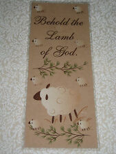 PRIMITIVE BEHOLD THE LAMB OF GOD LAMINATED BOOKMARK CL10-24