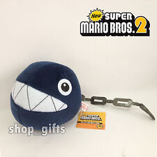 New Super Mario Bros. 3D Land Plush Chain Chomp Soft Toy Stuffed Animal Teddy 5""