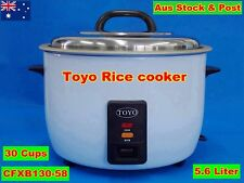 TOYO Commercial Rice Cooker 5.6 Liter/30 Cups Cooking/Keep Warm (Brand New)