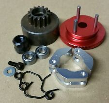 1/8 RC Nitro Clutch Flywheel Kit 3 Shoe Red