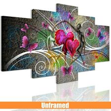 Unframed Canvas Print Home Decor Wall Art Picture -Abstract Dancers For Bedroom