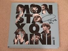 Official Hyungwon Signed MONSTA X Rush Album ~US Seller~ Kihyun Wonho Minhyuk