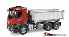 BRUDER 03622 -  MB Arocs camion container ribaltabile
