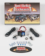 Hot Licks Exhaust Flamethrower Single Exhaust Kit for Motorcycles; All Vehicles