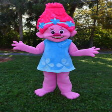 POPPY TROLLS GNOME MASCOT COSTUME ADULT SIZE HIGH QUALITY