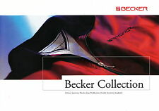 Prospekt Becker Collection 2006 D-1625 clothes sportswear watches caps overalls