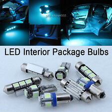 INTERIOR CAR LED LIGHT SMD PACKAGE BULBS KIT 8K Ice Blue FIT VW SCIROCCO III MK3