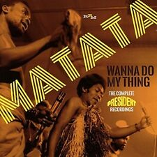 Wanna Do My Thing: The Complete President Recordin -  (2017, CD NIEUW)2 DISC SET