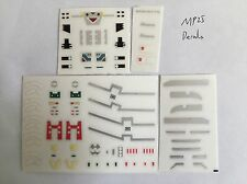 Eness Detail Decals for Transformer MP25 Track,In stock!