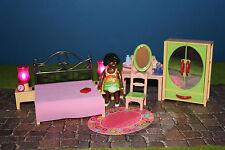 Playmobil romantisme chambre 1900er monde 5300/5301/5309/5321/5308
