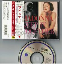 MADONNA Keep It Together JAPAN 7-track CD WPCP-3200 w/OBI+6-p PS BOOKLET Free SH