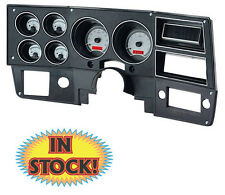 Dakota Digital 1973-87 Chevy and GMC Pickup Gauge Kit Silver/Red VHX-73C-PU-S-R