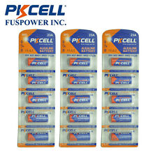 15x PKCELL 12V 23A A23 23ae 21/23 23GA MN21 Alkaline Dry Batteries for Toys