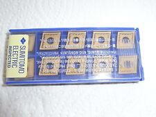 NEU 10 Sumitomo CNMG120404N-UP AC820P Wendeplatte mit Rechnung